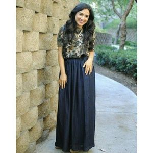 Madewell maxi skirt